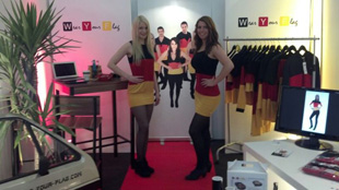 Wear Your Flag auf der ISPO 2013